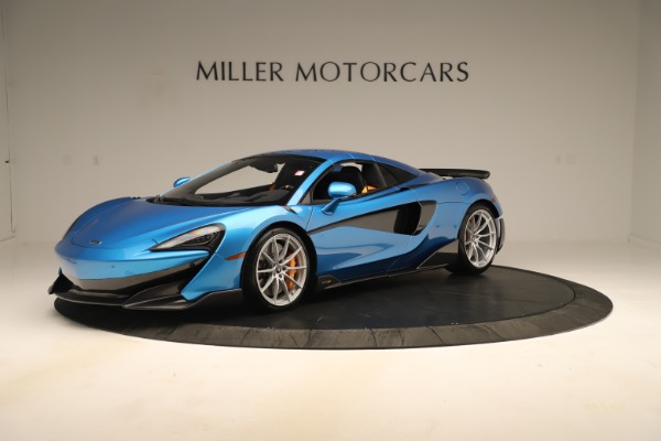 New 2020 McLaren 600LT SPIDER Convertible for sale $303,059 at Bugatti of Greenwich in Greenwich CT 06830 10