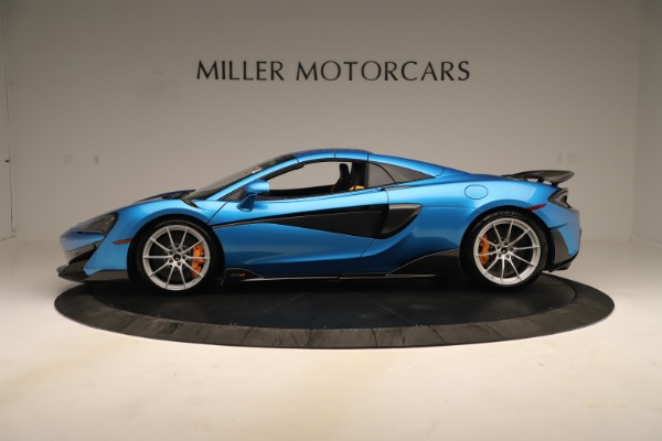 New 2020 McLaren 600LT SPIDER Convertible for sale $303,059 at Bugatti of Greenwich in Greenwich CT 06830 11