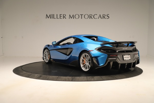 New 2020 McLaren 600LT SPIDER Convertible for sale $303,059 at Bugatti of Greenwich in Greenwich CT 06830 12