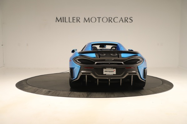 New 2020 McLaren 600LT SPIDER Convertible for sale $303,059 at Bugatti of Greenwich in Greenwich CT 06830 13