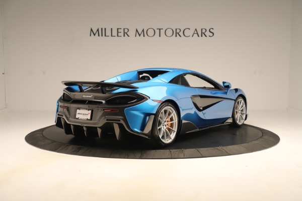 New 2020 McLaren 600LT SPIDER Convertible for sale $303,059 at Bugatti of Greenwich in Greenwich CT 06830 14