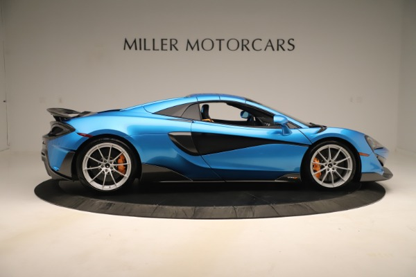 New 2020 McLaren 600LT SPIDER Convertible for sale $303,059 at Bugatti of Greenwich in Greenwich CT 06830 15