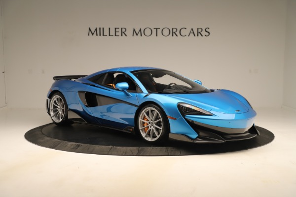 New 2020 McLaren 600LT SPIDER Convertible for sale $303,059 at Bugatti of Greenwich in Greenwich CT 06830 16