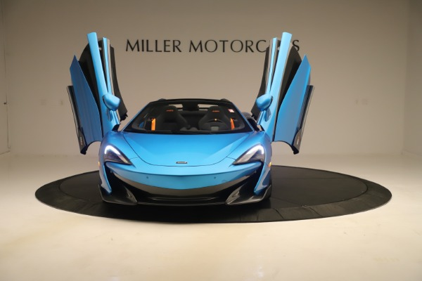 New 2020 McLaren 600LT SPIDER Convertible for sale $303,059 at Bugatti of Greenwich in Greenwich CT 06830 17