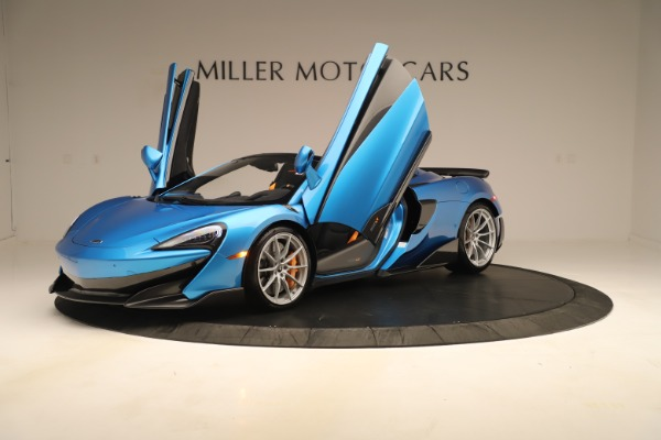 New 2020 McLaren 600LT SPIDER Convertible for sale $303,059 at Bugatti of Greenwich in Greenwich CT 06830 18