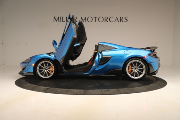 New 2020 McLaren 600LT SPIDER Convertible for sale $303,059 at Bugatti of Greenwich in Greenwich CT 06830 19