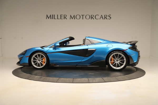 New 2020 McLaren 600LT SPIDER Convertible for sale $303,059 at Bugatti of Greenwich in Greenwich CT 06830 2