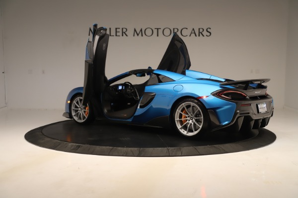 New 2020 McLaren 600LT SPIDER Convertible for sale $303,059 at Bugatti of Greenwich in Greenwich CT 06830 20