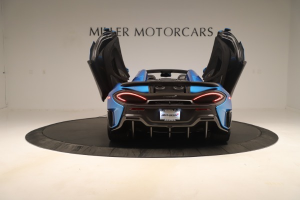 New 2020 McLaren 600LT SPIDER Convertible for sale $303,059 at Bugatti of Greenwich in Greenwich CT 06830 21