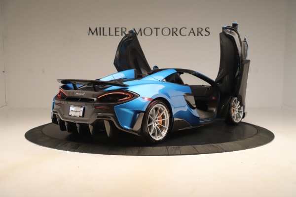 New 2020 McLaren 600LT SPIDER Convertible for sale $303,059 at Bugatti of Greenwich in Greenwich CT 06830 22