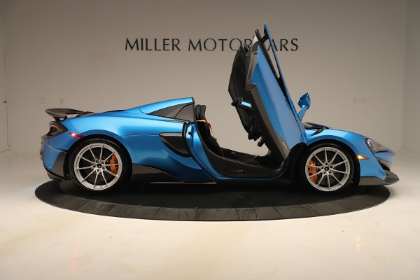 New 2020 McLaren 600LT SPIDER Convertible for sale $303,059 at Bugatti of Greenwich in Greenwich CT 06830 23