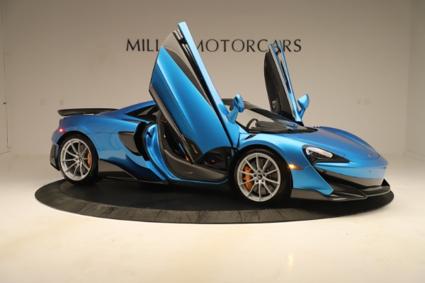 New 2020 McLaren 600LT SPIDER Convertible for sale $303,059 at Bugatti of Greenwich in Greenwich CT 06830 24
