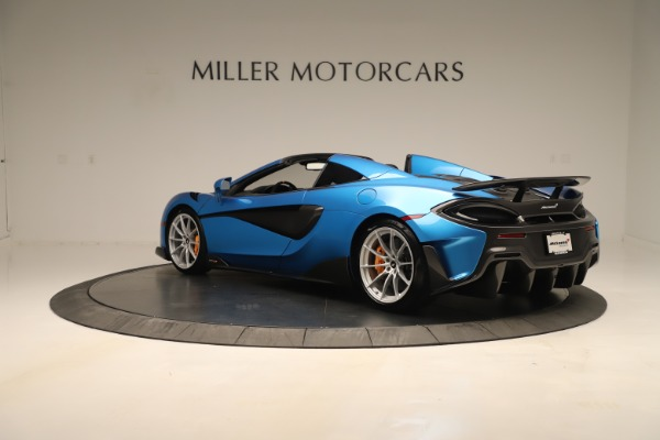 New 2020 McLaren 600LT SPIDER Convertible for sale $303,059 at Bugatti of Greenwich in Greenwich CT 06830 3