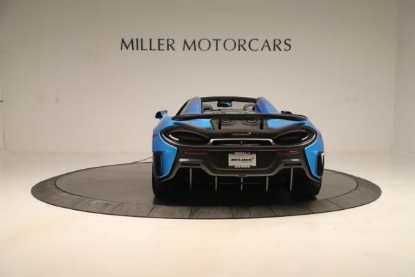 New 2020 McLaren 600LT SPIDER Convertible for sale $303,059 at Bugatti of Greenwich in Greenwich CT 06830 4