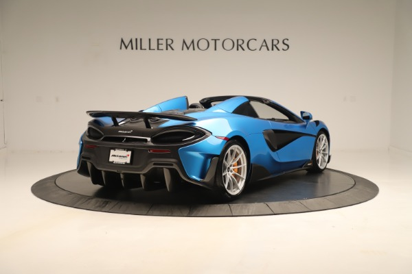 New 2020 McLaren 600LT SPIDER Convertible for sale $303,059 at Bugatti of Greenwich in Greenwich CT 06830 5