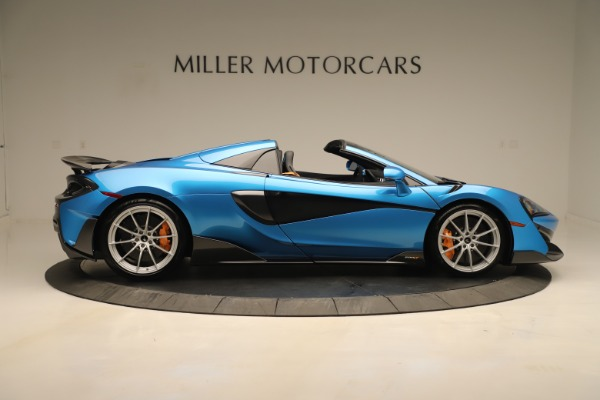 New 2020 McLaren 600LT SPIDER Convertible for sale $303,059 at Bugatti of Greenwich in Greenwich CT 06830 6