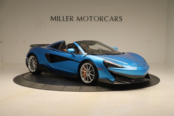New 2020 McLaren 600LT SPIDER Convertible for sale $303,059 at Bugatti of Greenwich in Greenwich CT 06830 7