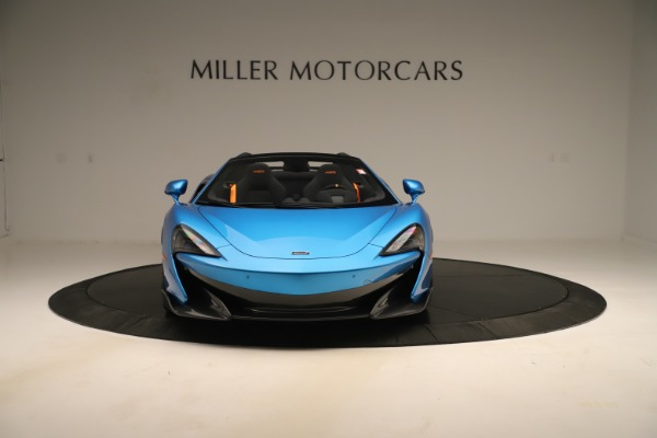 New 2020 McLaren 600LT SPIDER Convertible for sale $303,059 at Bugatti of Greenwich in Greenwich CT 06830 8