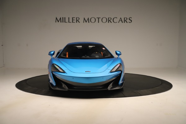 New 2020 McLaren 600LT SPIDER Convertible for sale $303,059 at Bugatti of Greenwich in Greenwich CT 06830 9