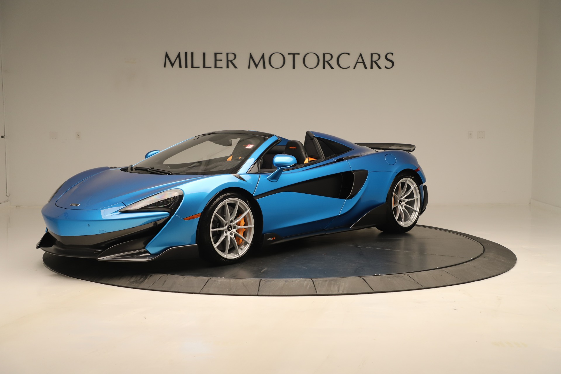 New 2020 McLaren 600LT SPIDER Convertible for sale $303,059 at Bugatti of Greenwich in Greenwich CT 06830 1