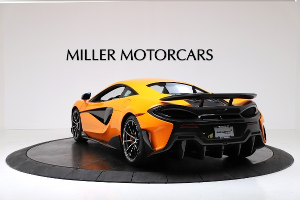 New 2019 McLaren 600LT Coupe for sale Call for price at Bugatti of Greenwich in Greenwich CT 06830 5