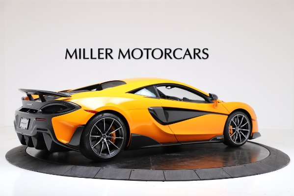New 2019 McLaren 600LT Coupe for sale Call for price at Bugatti of Greenwich in Greenwich CT 06830 8