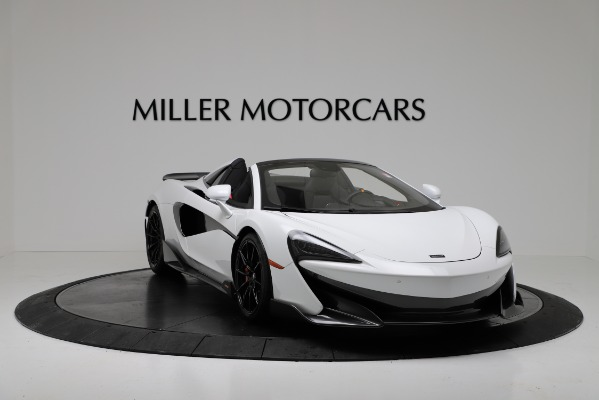 New 2020 McLaren 600LT Convertible for sale Sold at Bugatti of Greenwich in Greenwich CT 06830 11
