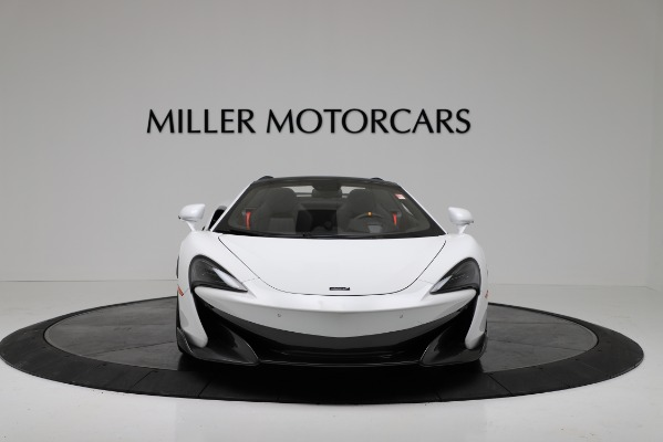 New 2020 McLaren 600LT Convertible for sale Sold at Bugatti of Greenwich in Greenwich CT 06830 12