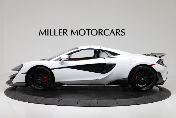 New 2020 McLaren 600LT Convertible for sale Sold at Bugatti of Greenwich in Greenwich CT 06830 14