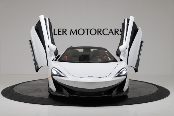 New 2020 McLaren 600LT Convertible for sale Sold at Bugatti of Greenwich in Greenwich CT 06830 19