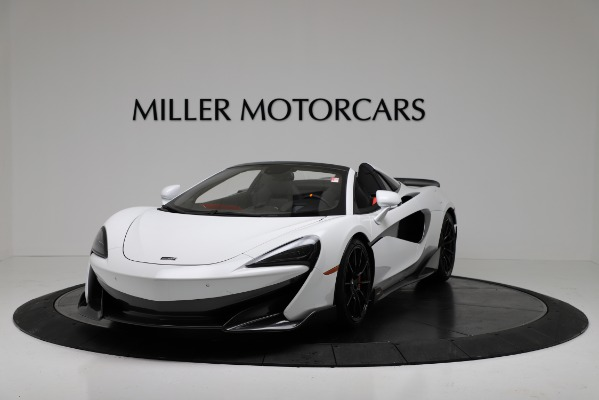 New 2020 McLaren 600LT Convertible for sale Sold at Bugatti of Greenwich in Greenwich CT 06830 2