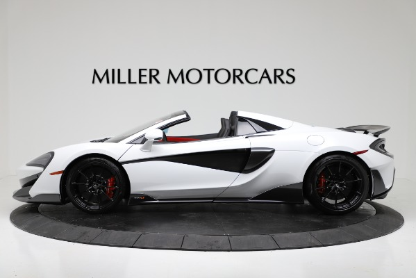 New 2020 McLaren 600LT Convertible for sale Sold at Bugatti of Greenwich in Greenwich CT 06830 3
