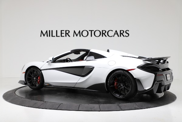 New 2020 McLaren 600LT Convertible for sale Sold at Bugatti of Greenwich in Greenwich CT 06830 4