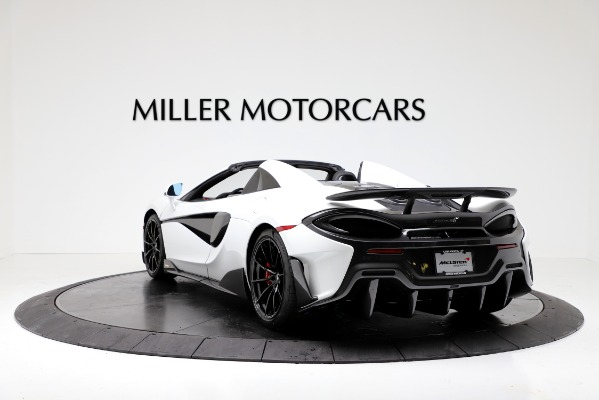 New 2020 McLaren 600LT Convertible for sale Sold at Bugatti of Greenwich in Greenwich CT 06830 5