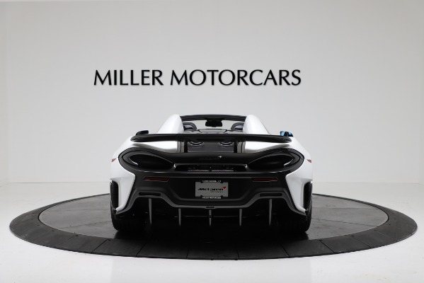New 2020 McLaren 600LT Convertible for sale Sold at Bugatti of Greenwich in Greenwich CT 06830 6
