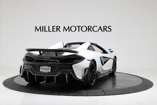 New 2020 McLaren 600LT Convertible for sale Sold at Bugatti of Greenwich in Greenwich CT 06830 7