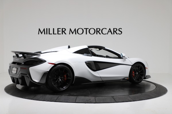 New 2020 McLaren 600LT Convertible for sale Sold at Bugatti of Greenwich in Greenwich CT 06830 8