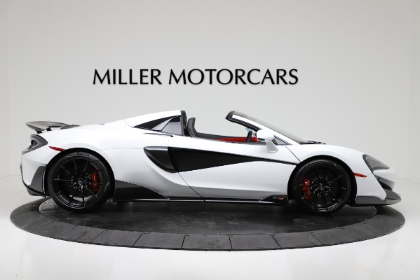 New 2020 McLaren 600LT Convertible for sale Sold at Bugatti of Greenwich in Greenwich CT 06830 9