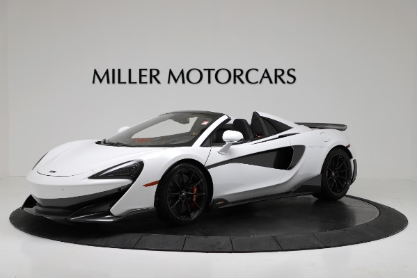 New 2020 McLaren 600LT Convertible for sale Sold at Bugatti of Greenwich in Greenwich CT 06830 1