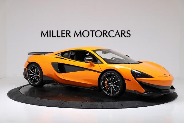 New 2019 McLaren 600LT for sale $279,310 at Bugatti of Greenwich in Greenwich CT 06830 10