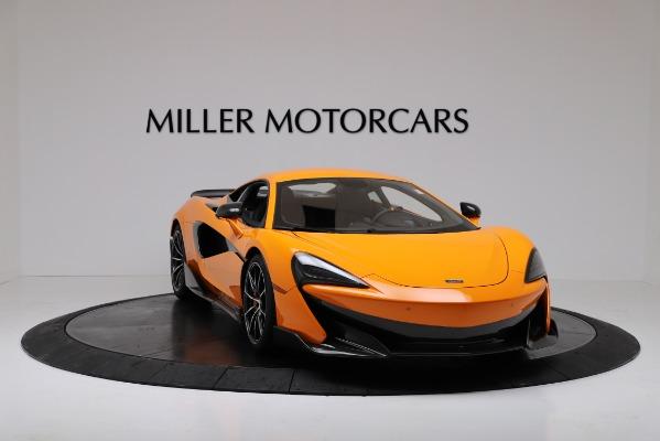 New 2019 McLaren 600LT for sale $279,310 at Bugatti of Greenwich in Greenwich CT 06830 11