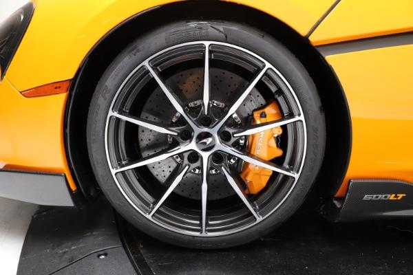 New 2019 McLaren 600LT for sale $279,310 at Bugatti of Greenwich in Greenwich CT 06830 13