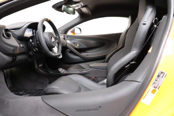 New 2019 McLaren 600LT for sale $279,310 at Bugatti of Greenwich in Greenwich CT 06830 15