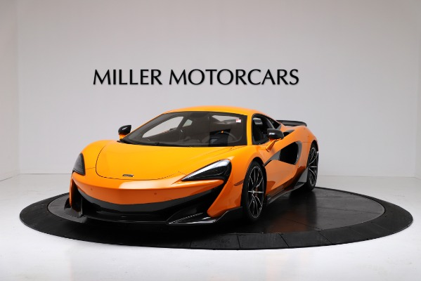 New 2019 McLaren 600LT Coupe for sale Call for price at Bugatti of Greenwich in Greenwich CT 06830 2
