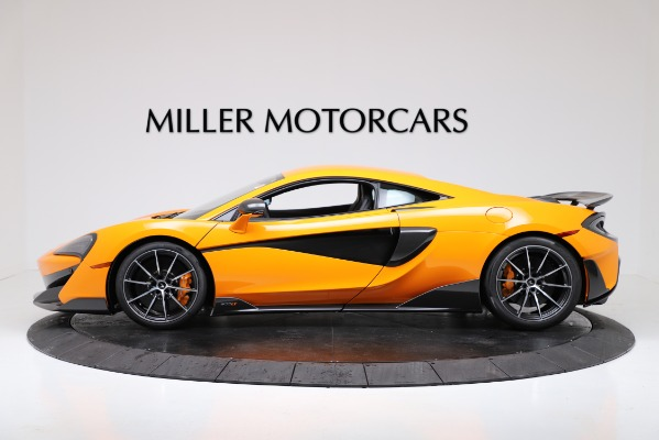 New 2019 McLaren 600LT for sale $279,310 at Bugatti of Greenwich in Greenwich CT 06830 3