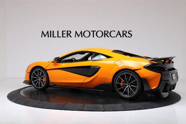 New 2019 McLaren 600LT for sale $279,310 at Bugatti of Greenwich in Greenwich CT 06830 4