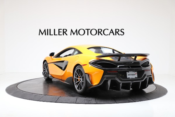 New 2019 McLaren 600LT for sale $279,310 at Bugatti of Greenwich in Greenwich CT 06830 5