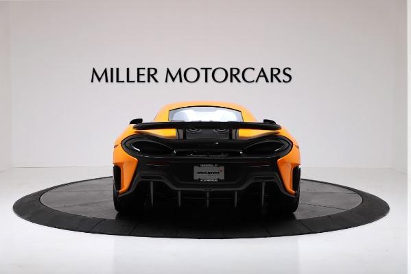 New 2019 McLaren 600LT for sale $279,310 at Bugatti of Greenwich in Greenwich CT 06830 6