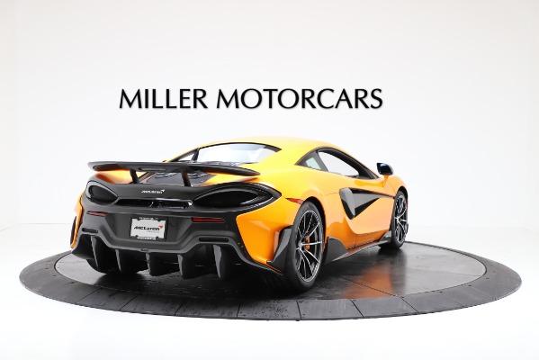 New 2019 McLaren 600LT for sale $279,310 at Bugatti of Greenwich in Greenwich CT 06830 7