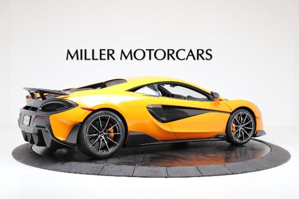 New 2019 McLaren 600LT for sale $279,310 at Bugatti of Greenwich in Greenwich CT 06830 8